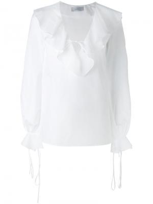 Блузка On Tour Racil. Цвет: белый