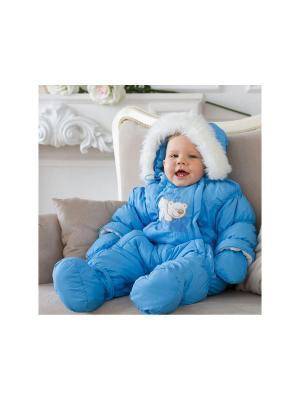 Комбинезон Baby Line. Цвет: голубой