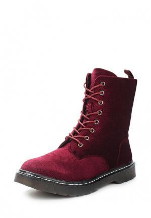 Ботинки Foxy Up. Цвет: бордовый