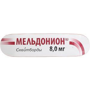 Дека для скейтборда  Meldonion White 31.875 x 8 (20.3 см) Юнион. Цвет: мультиколор,бордовый,черный
