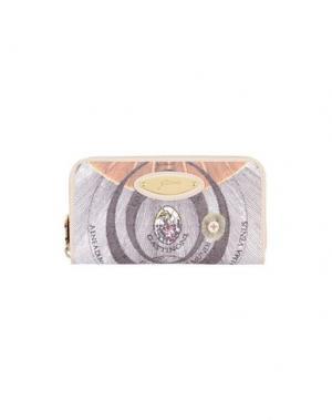 Бумажник GATTINONI. Цвет: бежевый