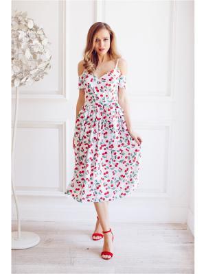 Платье с открытыми плечами Self Made