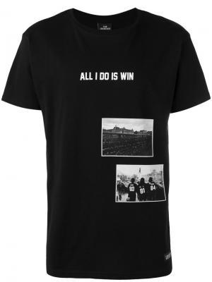 Футболка All I Do is Win Les (Art)Ists. Цвет: чёрный