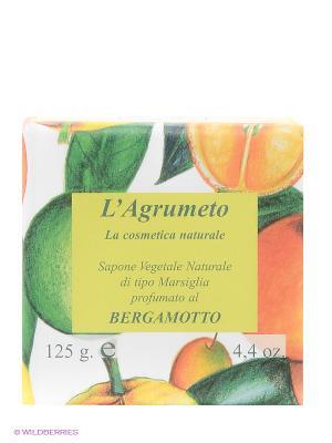 Высококачественное натуральное растительное мыло Iteritalia. Цвет: зеленый, оранжевый