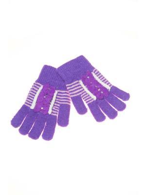 Перчатки Shapkoff. Цвет: фиолетовый