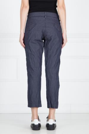 Хлопковые брюки Maharishi. Цвет: фиолетовый