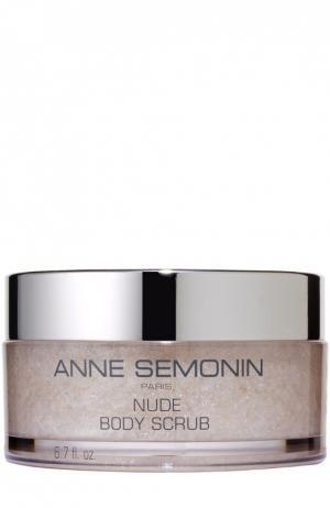 Скраб для тела с эффектом детокс, питания и смягчения кожи Anne Semonin. Цвет: бесцветный