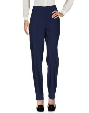 Повседневные брюки MARTA PALMIERI. Цвет: синий