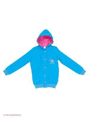 Куртка Cherubino. Цвет: бирюзовый