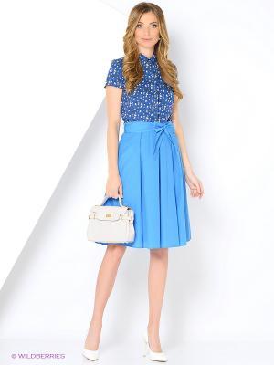 Блузка APRELLE. Цвет: темно-синий