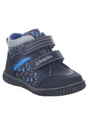 Ботинки Капика. Цвет: синий (синий/голубой)