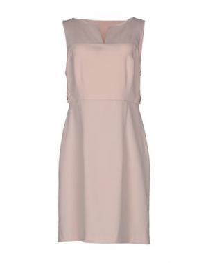 Короткое платье ANNARITA N.. Цвет: розовый