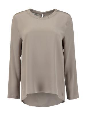 Блуза Cappellini. Цвет: серый