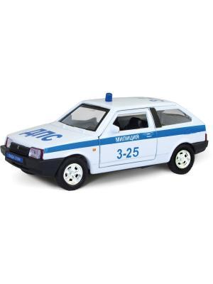 Машина LADA 2108 милиция AUTOTIME. Цвет: белый