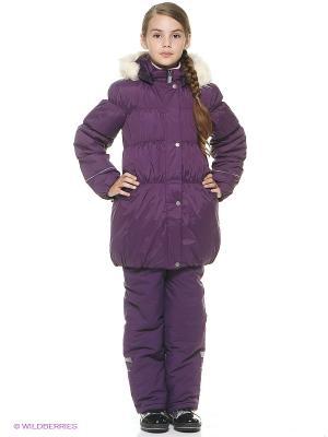 Куртка для девочки Cherubino. Цвет: фиолетовый