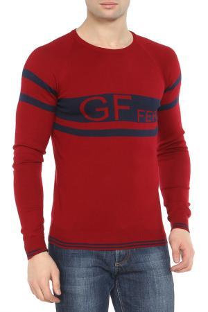 Свитер GF FERRE. Цвет: красный