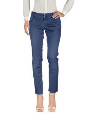 Повседневные брюки HEAVY PROJECT. Цвет: грифельно-синий