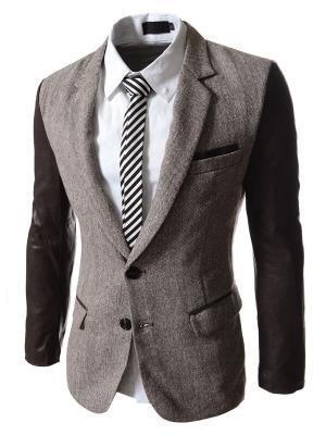 Пиджак VipDressCode. Цвет: коричневый