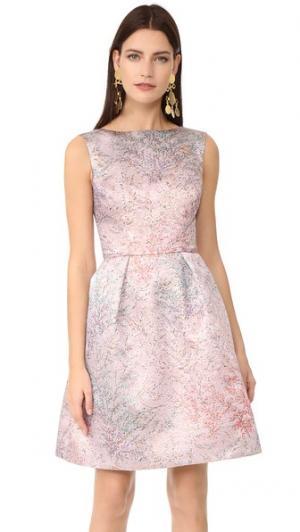 Платье без рукавов Monique Lhuillier. Цвет: бледно-розовый