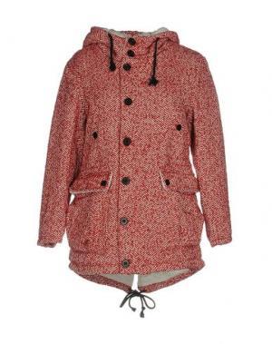 Куртка WEILI ZHENG. Цвет: красный