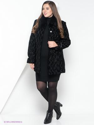 Пальто утепленное Socrat. Цвет: черный