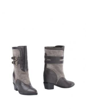 Полусапоги и высокие ботинки LUCIANO PADOVAN. Цвет: темно-коричневый
