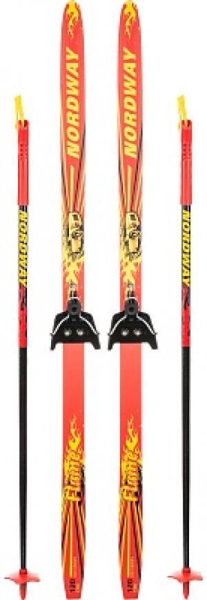 Комплект лыжный детский  Flame 75 мм Nordway