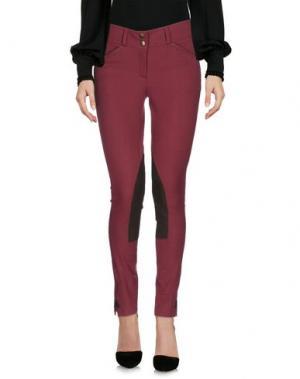 Повседневные брюки HERITAGE. Цвет: красно-коричневый