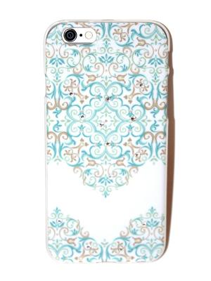 Чехол для iPhone 6/6s Lola. Цвет: белый, голубой