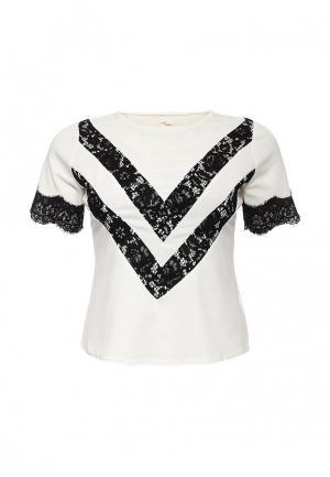 Блуза Just Joan. Цвет: белый