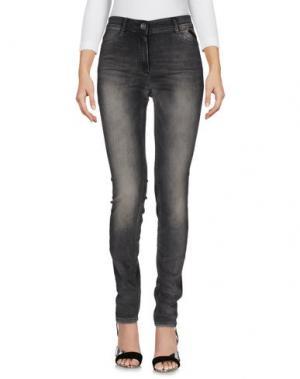 Джинсовые брюки TAIFUN. Цвет: черный