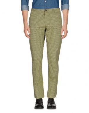 Повседневные брюки (M) MAMUUT DENIM. Цвет: зеленый-милитари