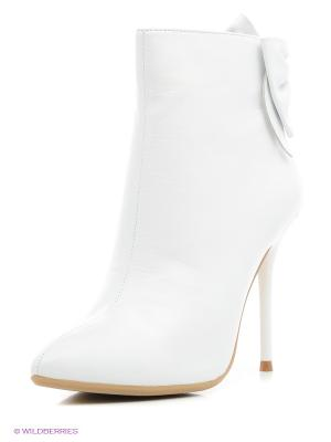 Ботильоны Moda Donna. Цвет: белый