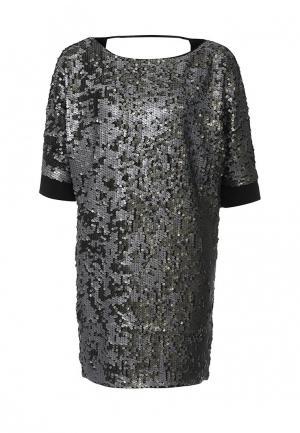 Платье Patrizia Pepe. Цвет: серый
