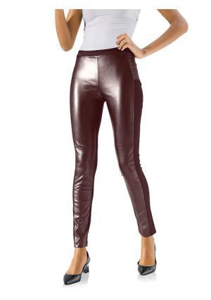 Моделирующие брюки Ashley Brooke. Цвет: бордовый, серо-коричневый, темно-синий, черный