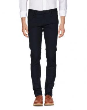Повседневные брюки GENTRYPORTOFINO. Цвет: темно-синий