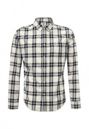 Рубашка Franklin & Marshall. Цвет: серый