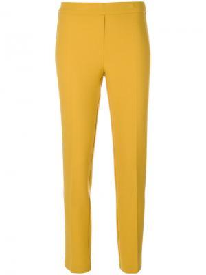Зауженные брюки P.A.R.O.S.H.. Цвет: жёлтый и оранжевый