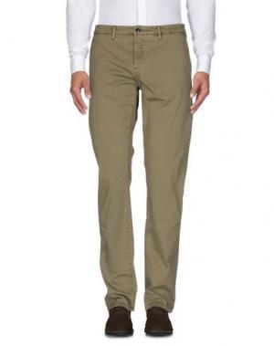 Повседневные брюки HAMPTONS. Цвет: зеленый-милитари