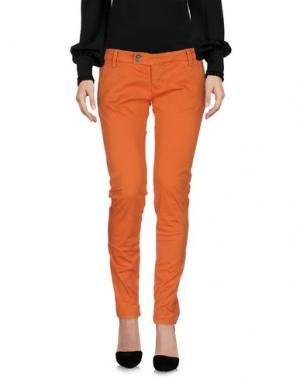 Повседневные брюки SHOCKLY. Цвет: оранжевый