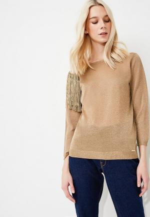 Пуловер Liu Jo. Цвет: золотой