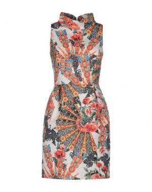 Короткое платье CAILAN'D. Цвет: белый