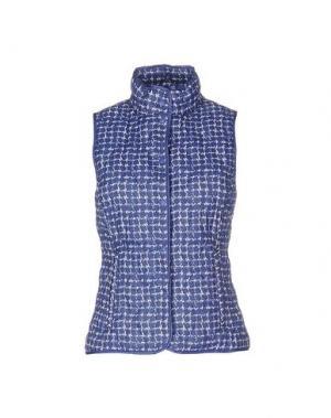 Пуховик BPD BE PROUD OF THIS DRESS. Цвет: синий