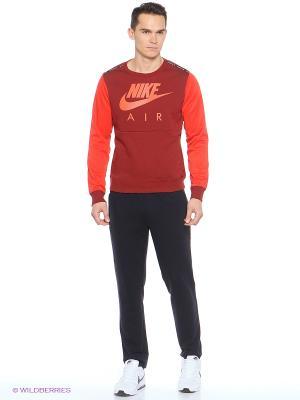 Повязка Nike. Цвет: красный