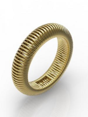 Кольцо VERUM. Цвет: золотистый