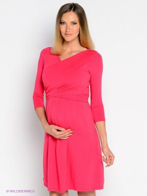 Платье Isabella Oliver. Цвет: розовый
