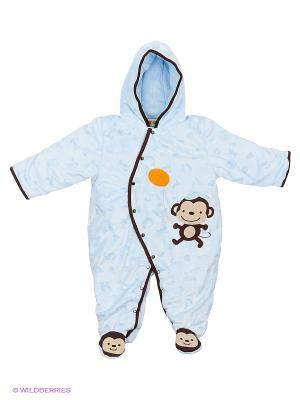 Комбинезон Kidly. Цвет: голубой