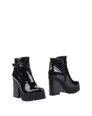 Полусапоги и высокие ботинки POLICE 883. Цвет: черный