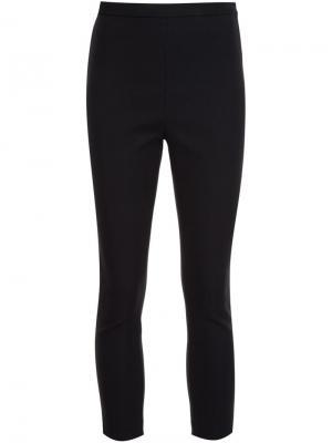 Укороченные брюки скинни Rosetta Getty. Цвет: чёрный