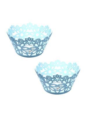 Ваза для фруктов Migura. Цвет: голубой